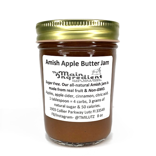 Amish Apple Butter Jam