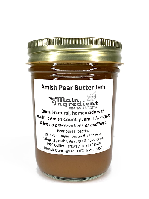 Amish Pear Butter Jam
