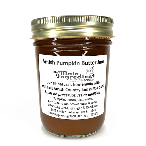 Amish Pumpkin Butter Jam