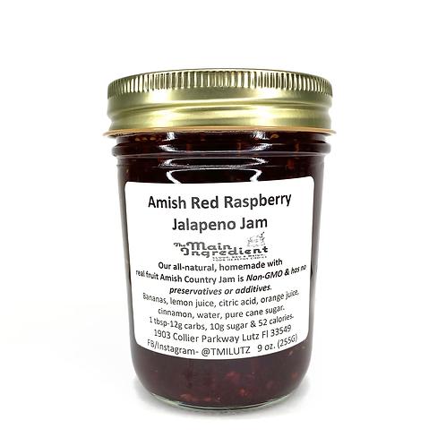 Amish Red Raspberry Jalapeno Jam