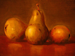 Three Pears (sold)