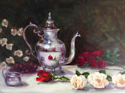 Silver Teapot  (sold)