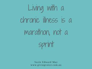 Marathon, not a sprint...