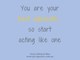 Be your best advocate in 2017!