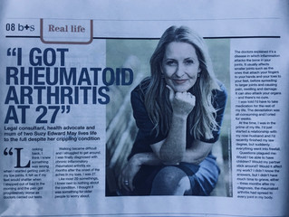 Shining light on living with chronic rheumatoid arthritis