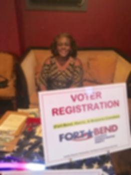 Fort Bend Democrats Registering Voters