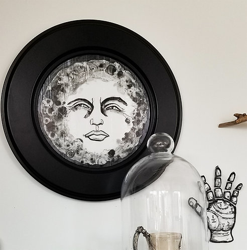 FULL MOON FRAMED
