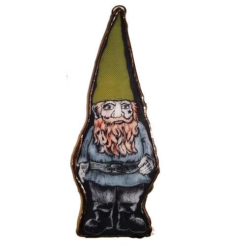 GARDEN GNOME ORNAMENT GREEN HAT