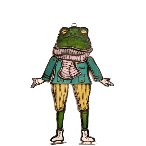 FIONA THE FROG FAMILIAR ON ICE