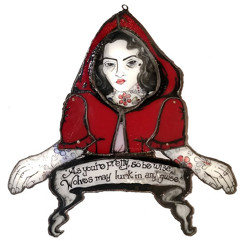 RED RIDING HOOD BUST