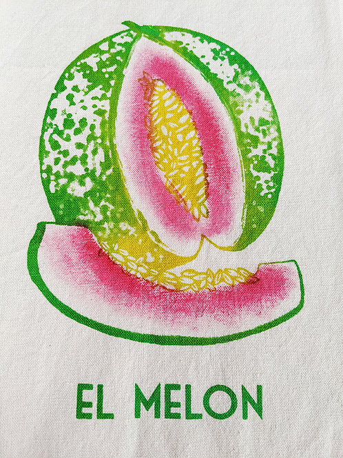 EL MELON TEA TOWEL