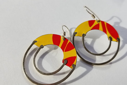 MOD RECLAIMED TIN EARRINGS