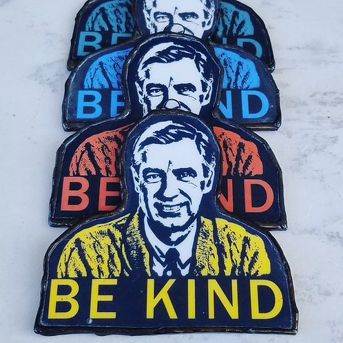 SET OF 5 FRED ROGERS IN ASSORTED COLORS -WS