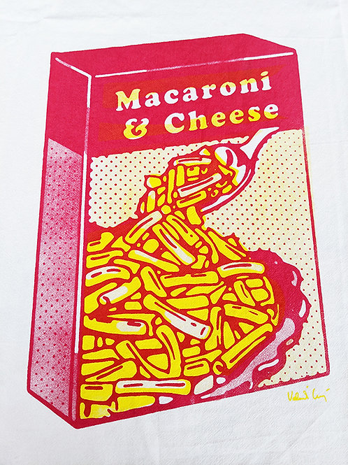 MAC N CHEESE TEA TOWEL