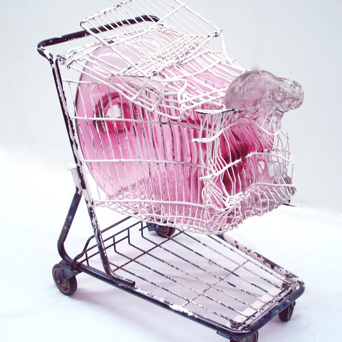 Shopping Cart Pink