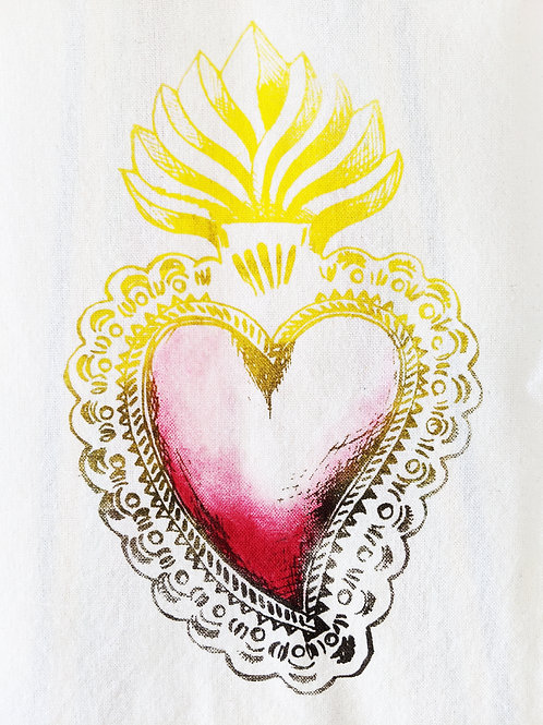 SACRED HEART TEA TOWEL