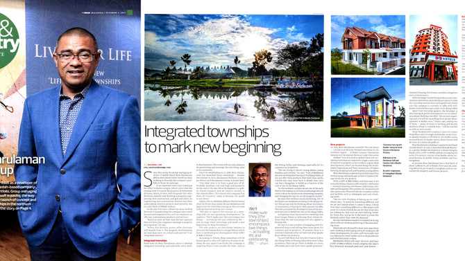 Integrated Townships to mark new beginning-The Edge (2nd October 2017)