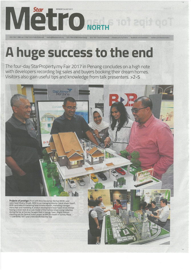 A huge success to the end - The Star