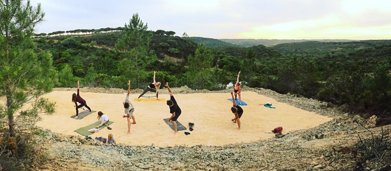 Eagles nest yoga platform