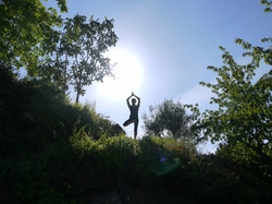 Stunning private yoga spots