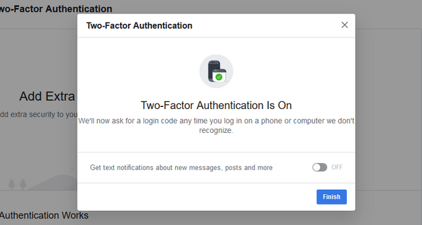 Facebook-Finish-two-step-verification-te