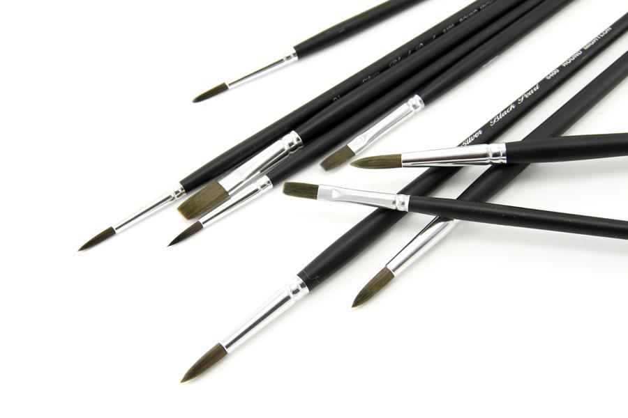 silverBrush Black Pearl brushes