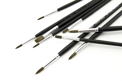 silverBrush Black Pearl brushes