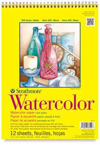 Strathmore Watercolor Pads