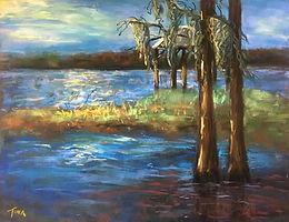 Lake Santa Fe Pastel.jpg