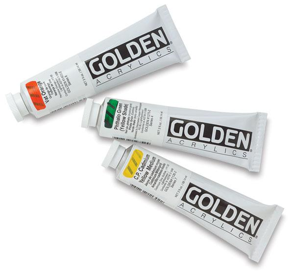 Golden Heavy Body Acrylic Paints