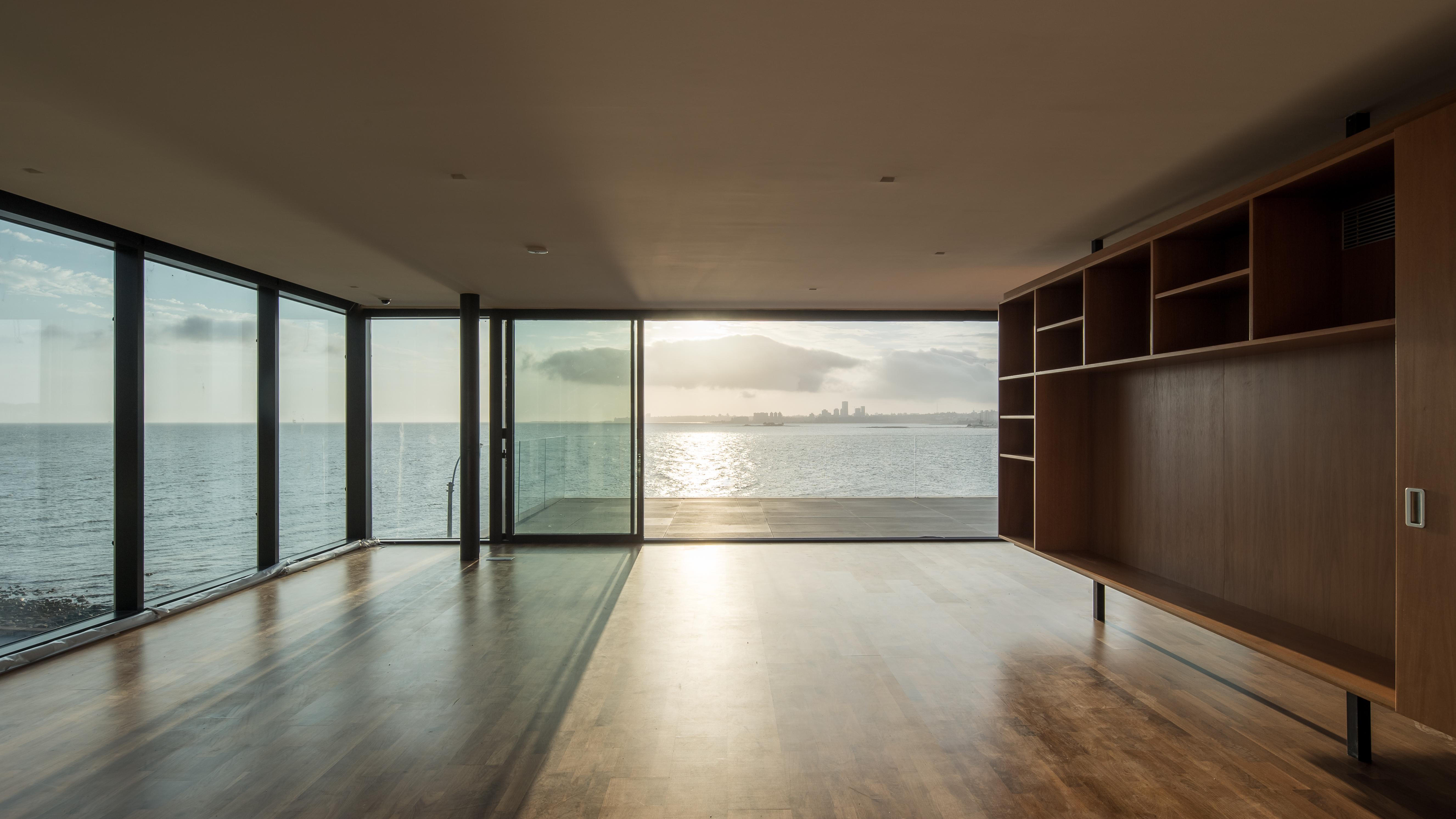 Living con vista al mar