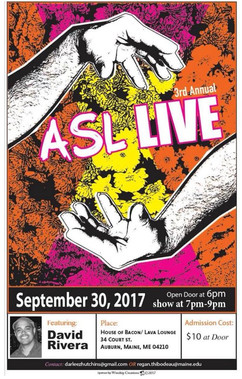 David Rivera ASL Live Deaf Performer