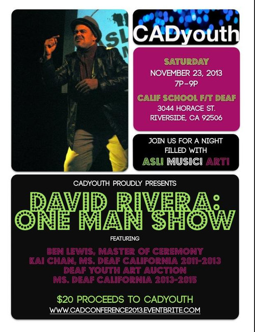 David Rivera One Man Show