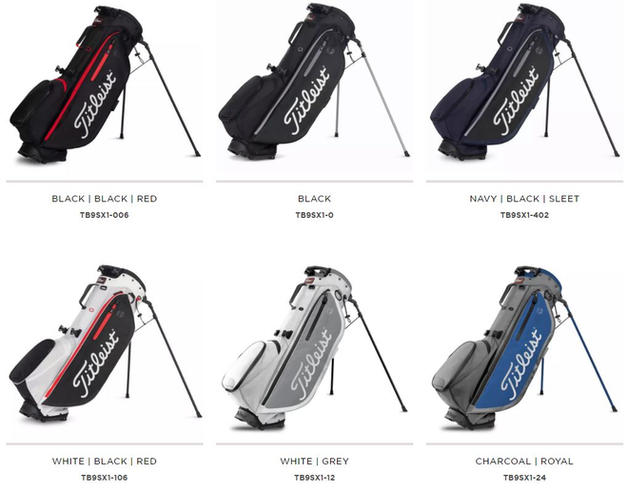Titleist Hybrid 4 Plus Stand Bag