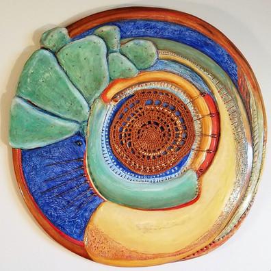 Cactus Paddle Wheel