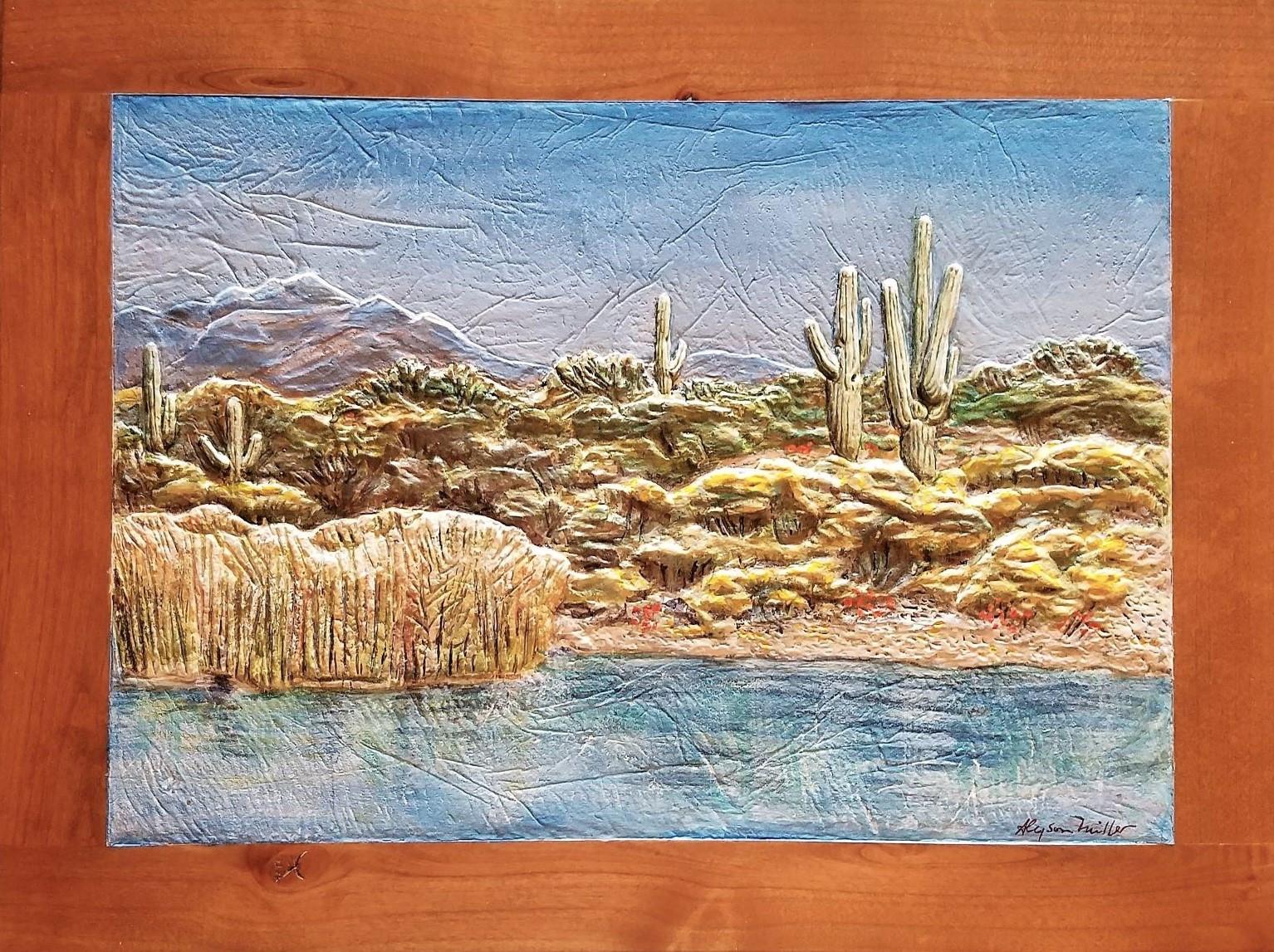 On Saguaro Lake