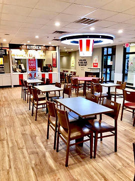 KFC Construction Interior