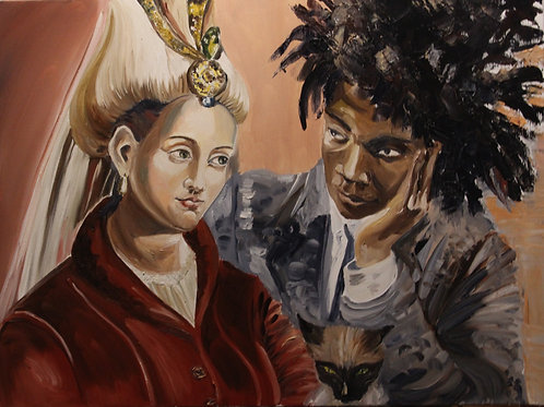 Roksolana and Jean-Michel Basquiat