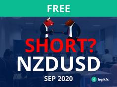 NZDUSD Trade Idea (Sept, 2020) BIG SHORT?