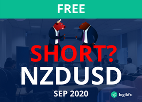 NZDUSD Trade Idea (Sept, 2020) BIG SHORT?