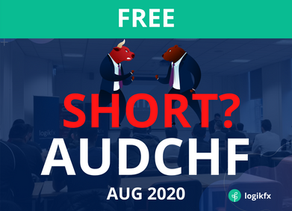 AUDCHF Trade Idea (Sept, 2020) AUD SELL OFF OR CHINA DRIVEN BREAKOUT?