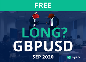 GBPUSD Trade Idea (Sept, 2020) Bulls Ready?