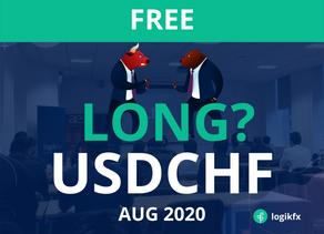 USDCHF Trade Idea (Aug, 2020)
