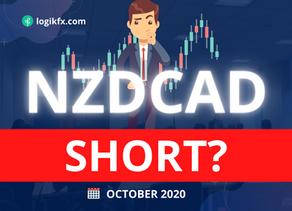 NZDCAD SHORT (Trade Idea, Oct 2020) XMAS SALES?