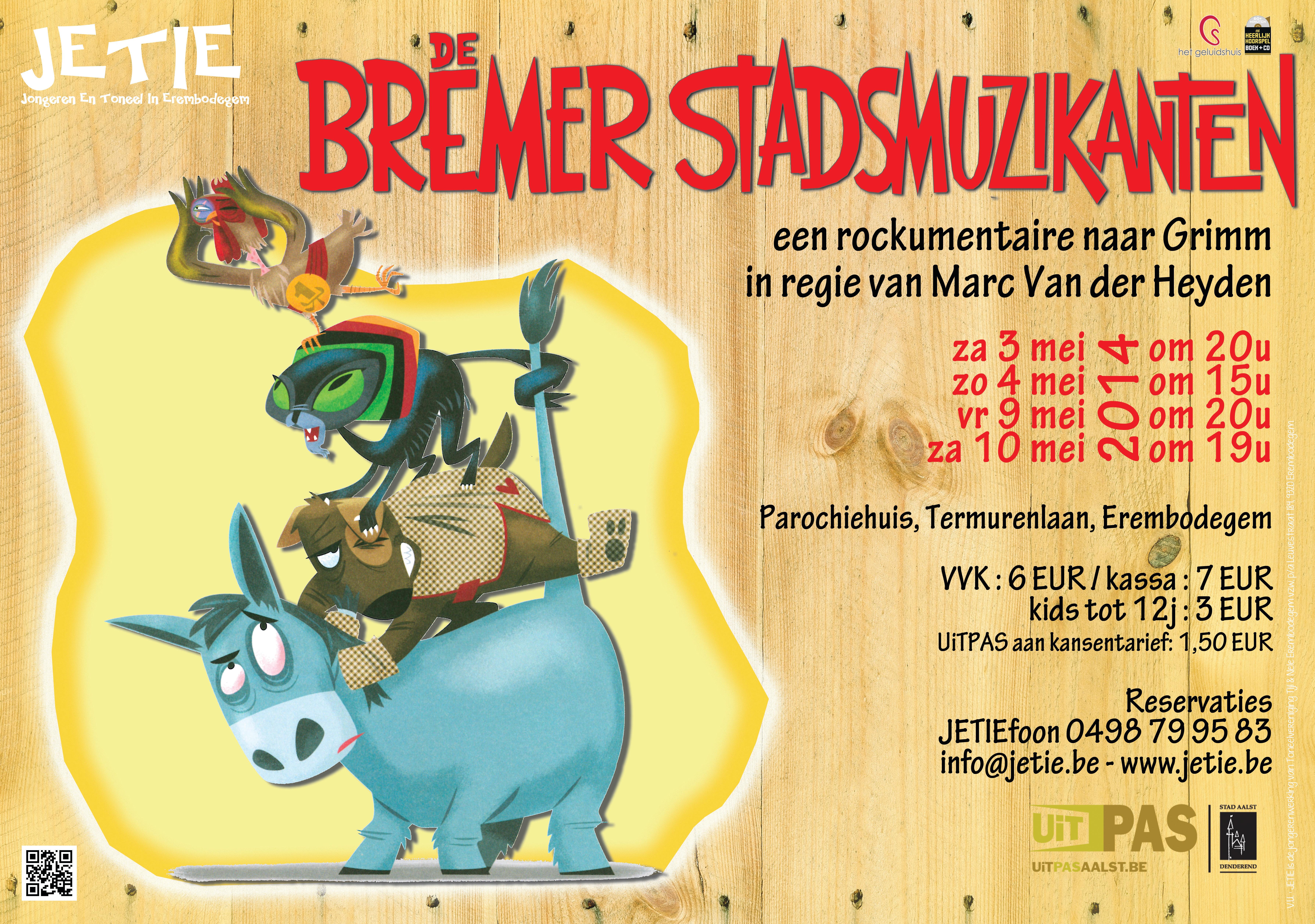 """""""De Bremer Stadsmuzikanten"""""""