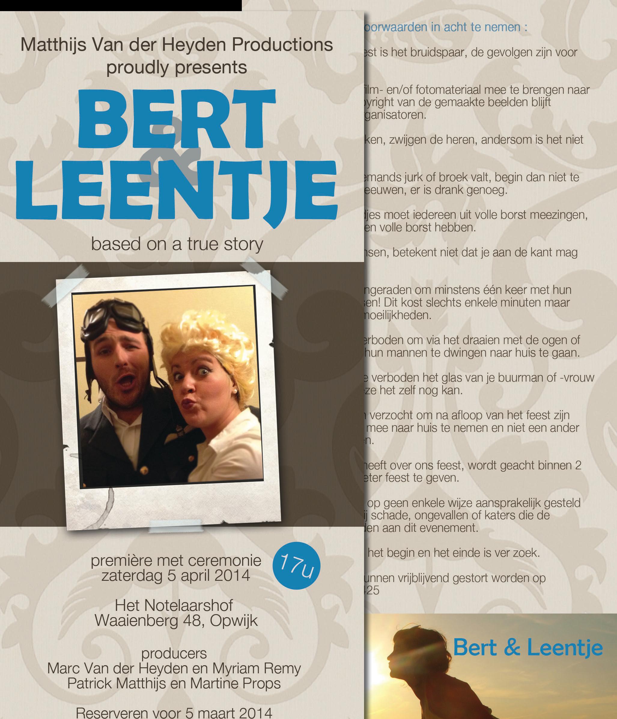 Leen en Bert collage