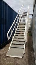 Escada de avião