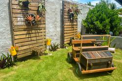 Carrinho reciclado - Playground