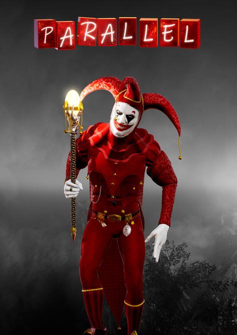 red clown