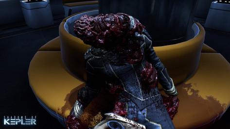 A dead body